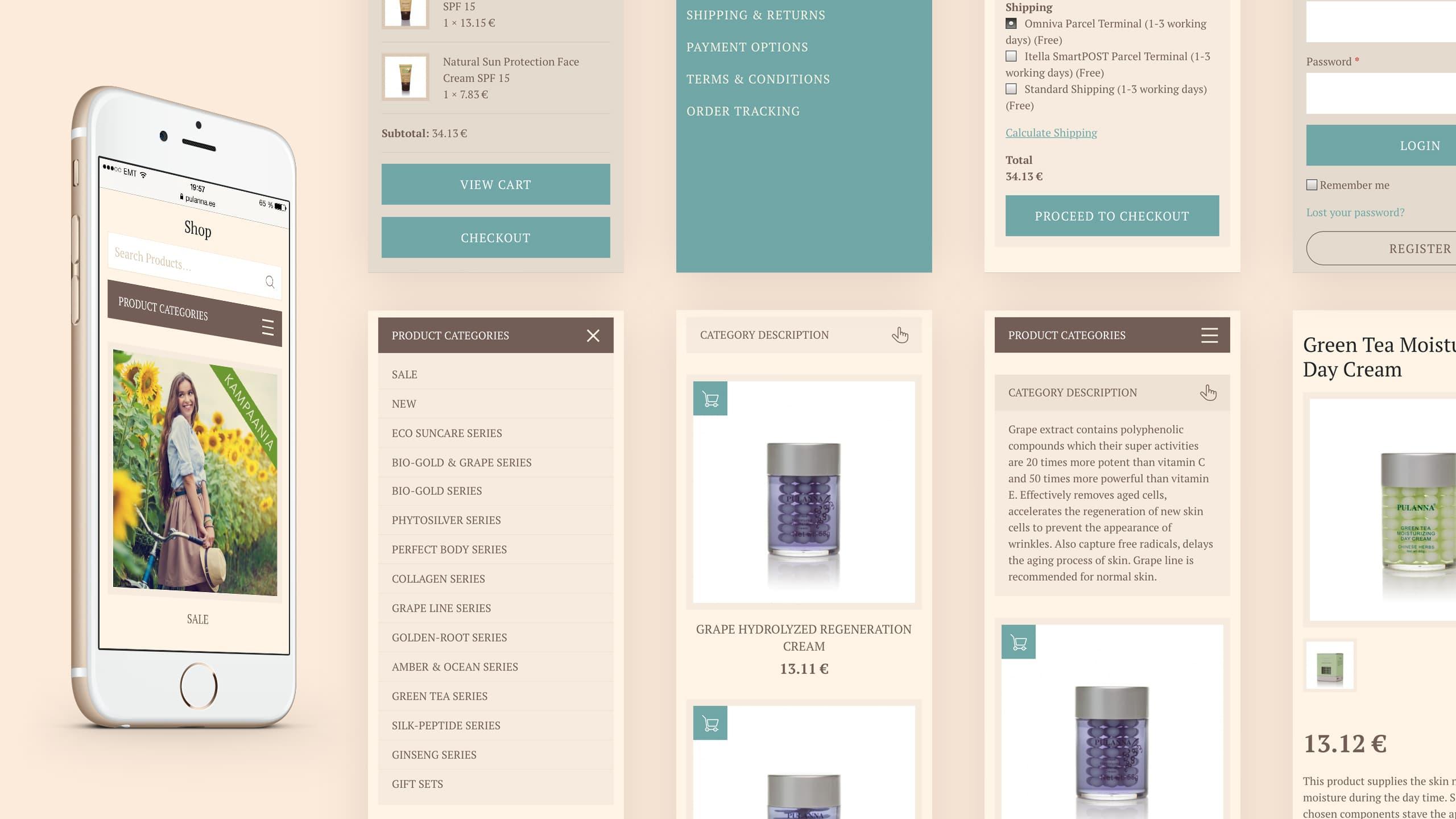 Pulanna online store