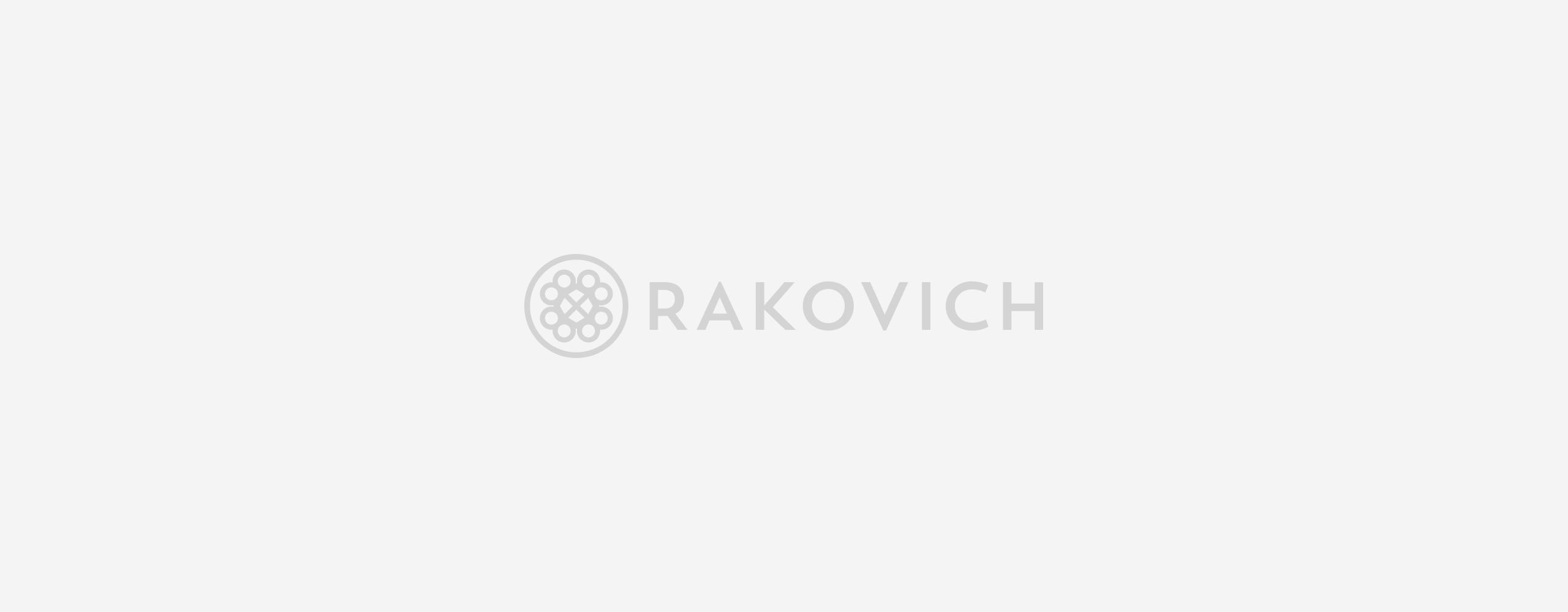 Логотип Rakovich
